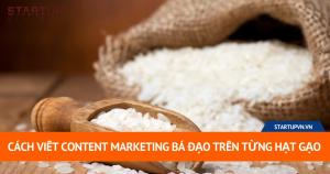 Hướng Dẫn Cách Tự Viết Content Marketing Bá Đạo Trên Từng Hạt Gạo 8