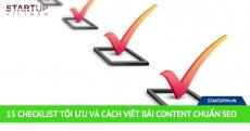 15 Checklist Tối Ưu Và Cách Viết Bài Content Chuẩn SEO 17