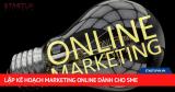 Lập Kế Hoạch Marketing Online Dành Cho SME 100