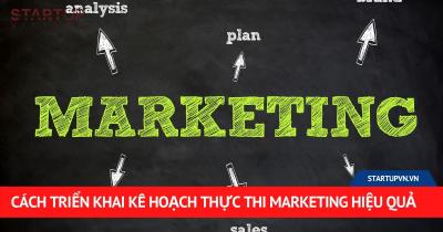 Cách Triển Khai Kế Hoạch Thực Thi Marketing Hiệu Quả 24