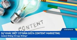 Sự Khác Biệt Cơ Bản Giữa Content Marketing, Content Writing Và Copy Writing? 18