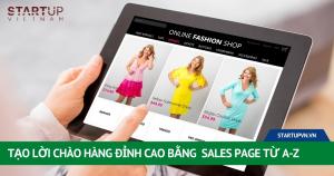 Tạo Lời Chào Hàng Đỉnh Cao Bằng Sales Page Từ A-Z 2